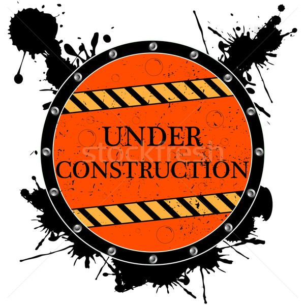 under construction icon Stock photo © robertosch