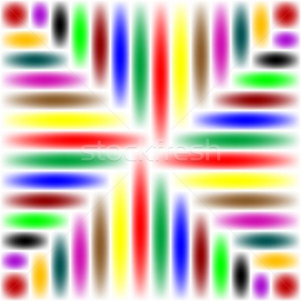 аннотация цветами вектора искусства Сток-фото © robertosch