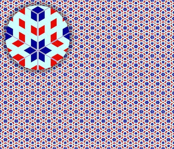 Поп-арт бесшовный подробный текстуры аннотация шаблон Сток-фото © robertosch