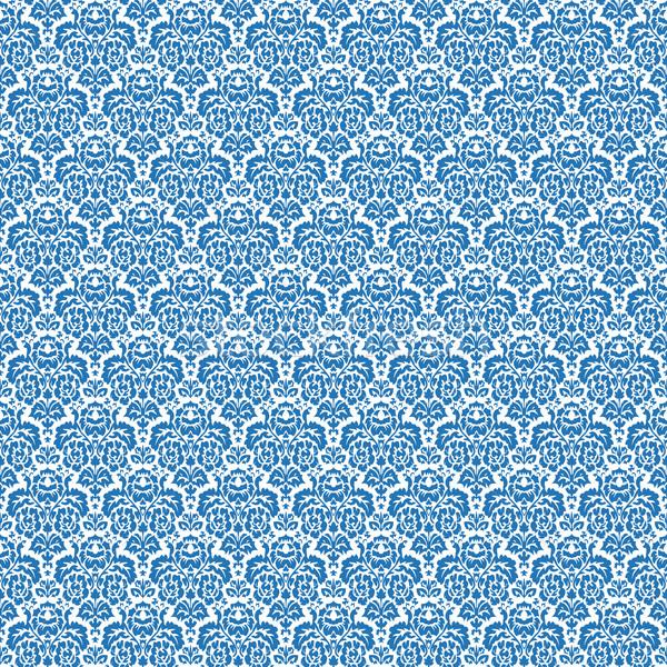 Kék végtelenített textúra absztrakt minta vektor Stock fotó © robertosch