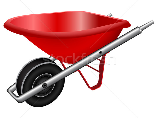 red wheel barrow Stock photo © robertosch