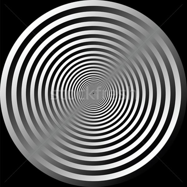 Absztrakt körök vektor művészet illusztráció textúra Stock fotó © robertosch