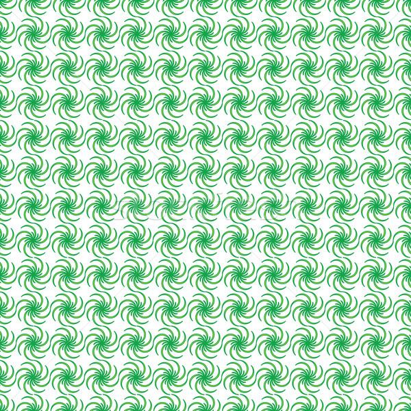 зеленый цветочный ткань аннотация текстуры вектора Сток-фото © robertosch
