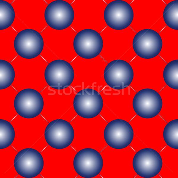 синий красный вектора искусства Сток-фото © robertosch