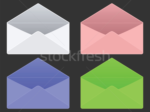 empty envelopes Stock photo © robertosch