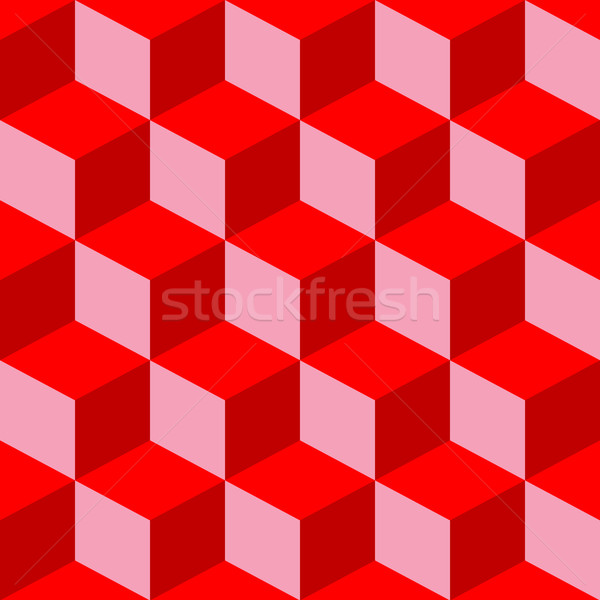 psychedelic pattern mixed red Stock photo © robertosch