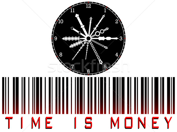 time is money bar code Stock photo © robertosch