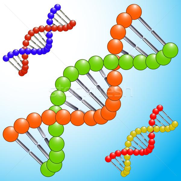 DNS ikon ikonok absztrakt vektor művészet Stock fotó © robertosch