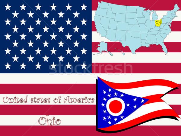 ohio state illustration Stock photo © robertosch