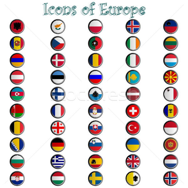 icons of europe complete collection Stock photo © robertosch