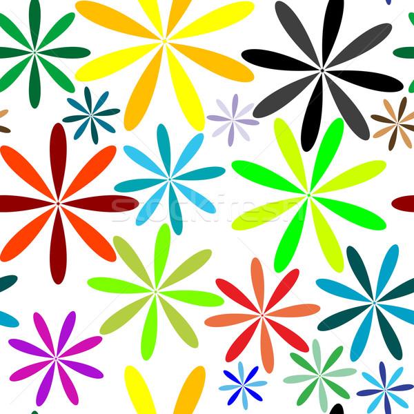 мало цветы вектора искусства иллюстрация Сток-фото © robertosch
