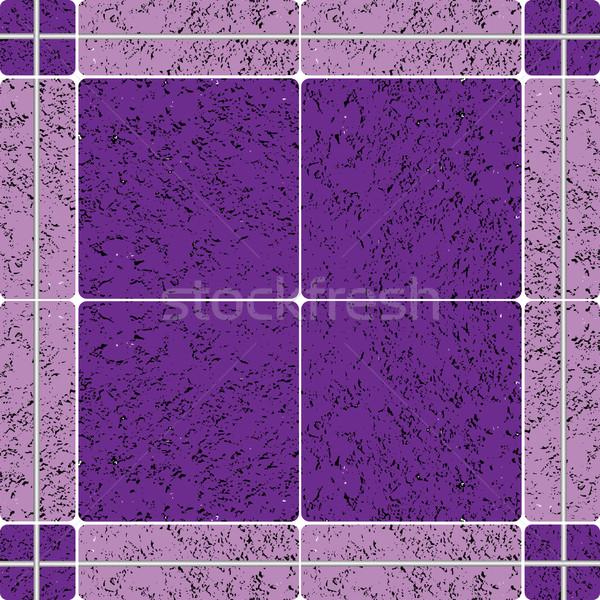 Fioletowy ceramiczne tekstury streszczenie sztuki ilustracja Zdjęcia stock © robertosch