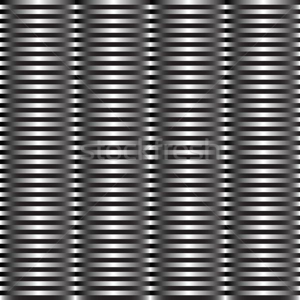 Fémes csíkok vektor művészet illusztráció több Stock fotó © robertosch