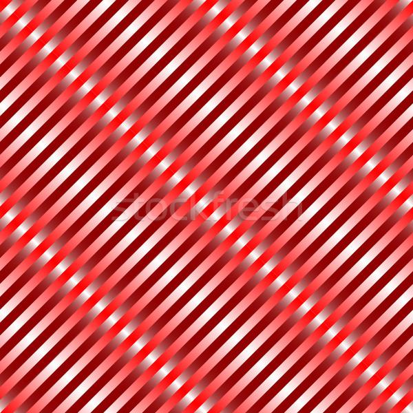 metallic red waves seamless pattern Stock photo © robertosch