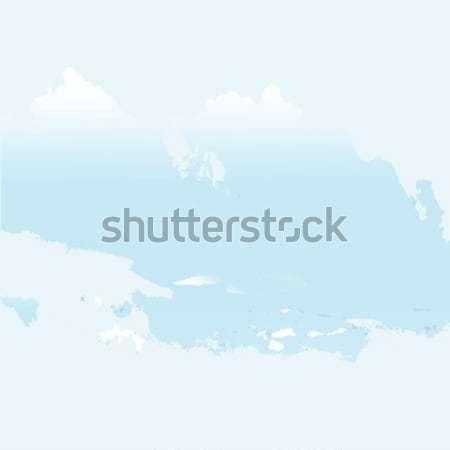 ярко Гранж облака текстуры аннотация искусства Сток-фото © robertosch