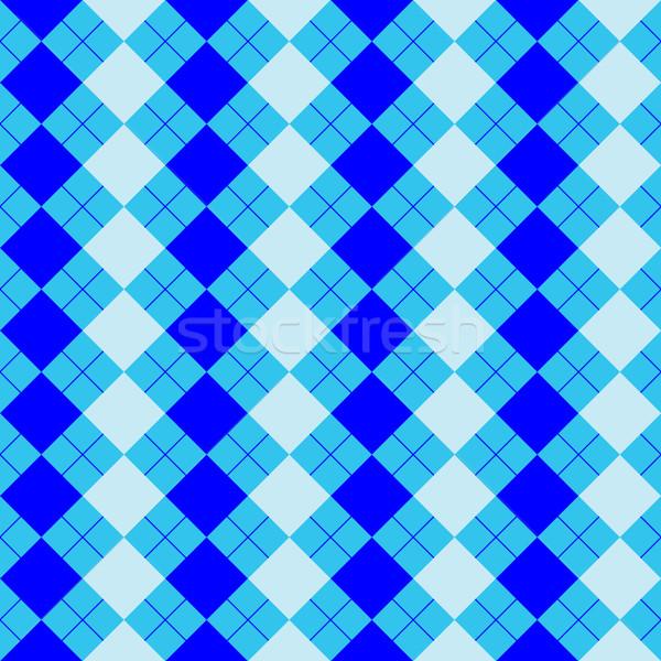 Foto d'archivio: Maglione · texture · mista · blu · colori · vettore