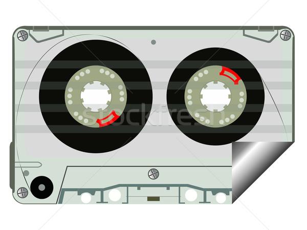 audio tape label Stock photo © robertosch