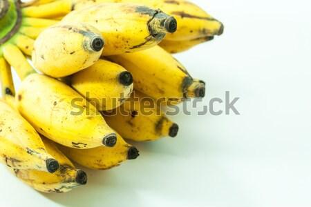 Yellow kerala small banana fruit hanging Stock photo © robinsonthomas