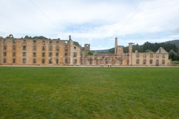 Porta carcere rovina tasmania museo mondo Foto d'archivio © roboriginal