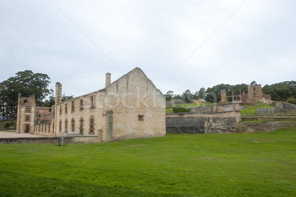 Puerto prisión ruina tasmania museo mundo Foto stock © roboriginal