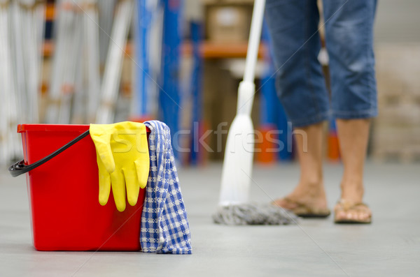 Cleaning business warehouse Stock photo © roboriginal