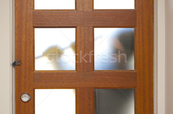 Rapinatore casa scassinatore ladro guanti Foto d'archivio © roboriginal