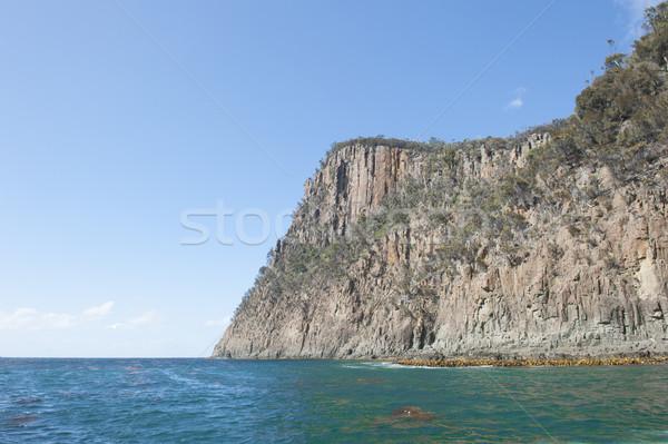 Cliff coast Bruny Island Tasmania southern ocean Stock photo © roboriginal