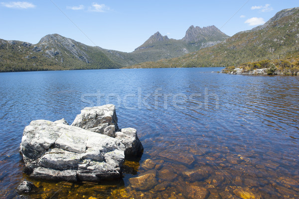 Cradle Mountain National Park at Dove Lake Stock photo © roboriginal