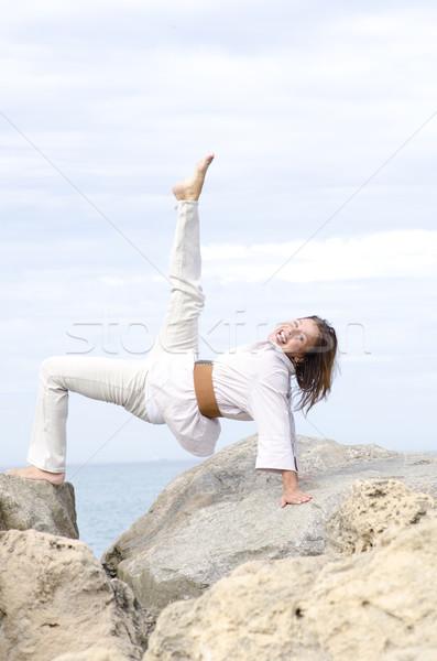 Deportivo altos mujer activo retrato Foto stock © roboriginal