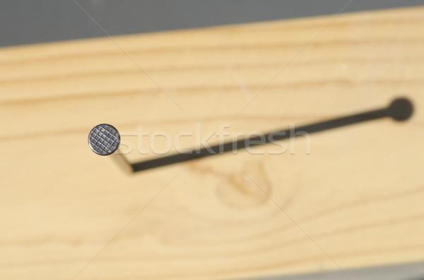 爪 木材 表面 影 屋外 詳しい ストックフォト © roboriginal