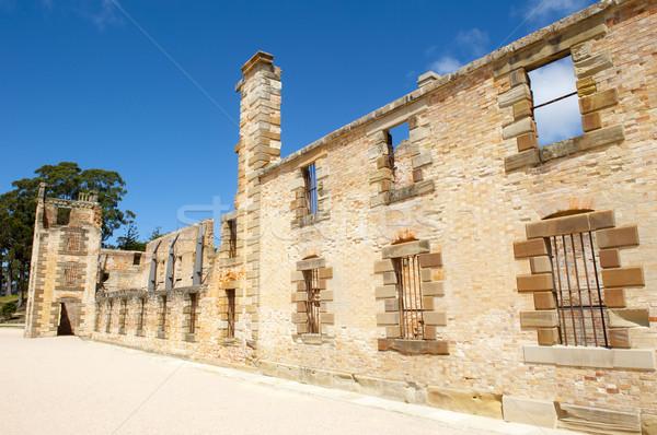 Haven museum tasmanië wereld erfgoed Stockfoto © roboriginal