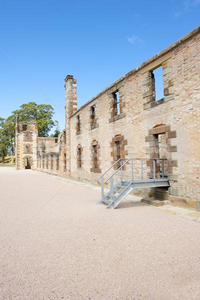 Porta carcere rovina tasmania mondo patrimonio Foto d'archivio © roboriginal