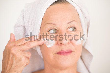 女性 リスニング 肖像 魅力的な シニア ストックフォト © roboriginal