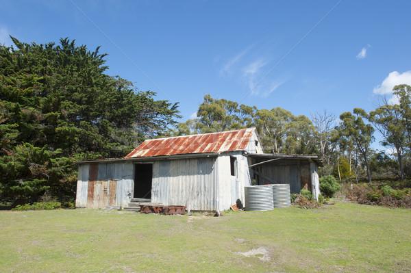 French Farm on Maria Island Tasmania Australia Stock photo © roboriginal