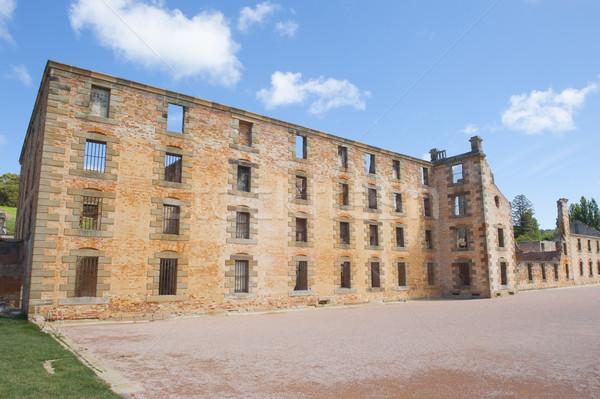 Haven gevangenis museum tasmanië wereld erfgoed Stockfoto © roboriginal