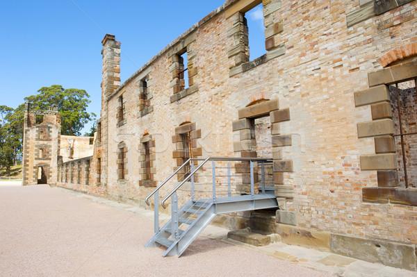Museum Port Arthur Convict Settlement Tasmania Stock photo © roboriginal
