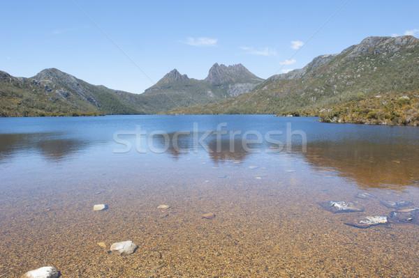 Kołyska górskich parku tasmania Australia piękna Zdjęcia stock © roboriginal