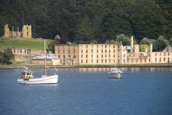 Port Arthur Convict Settlement Tasmania Stock photo © roboriginal