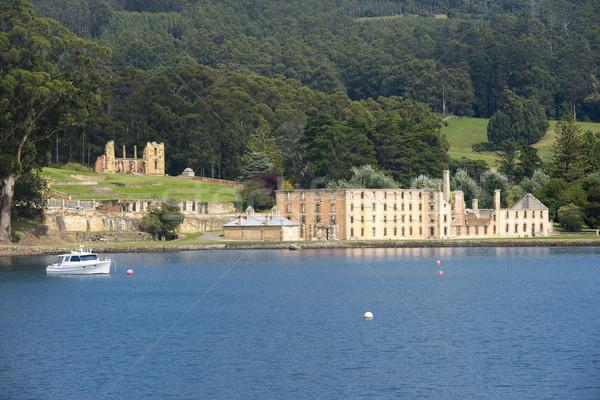 Port Arthur Convict Museum Tasmania Australia Stock photo © roboriginal