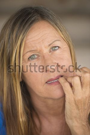 Attractive lady confident look Stock photo © roboriginal