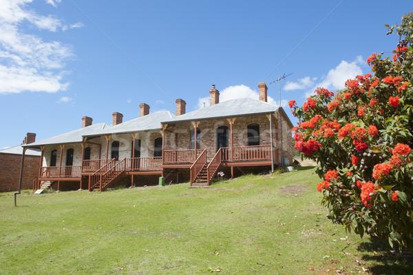 Darlington Convict Site Maria Island Tasmania Stock photo © roboriginal