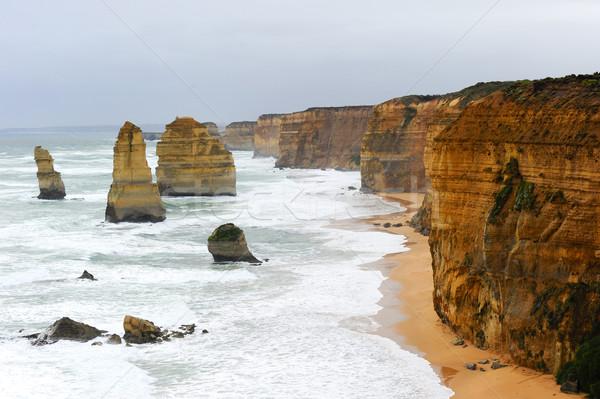 двенадцать побережье Австралия океана Сток-фото © roboriginal