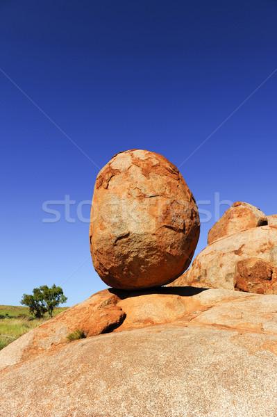 Marmi Australia uno rocce remote Foto d'archivio © roboriginal