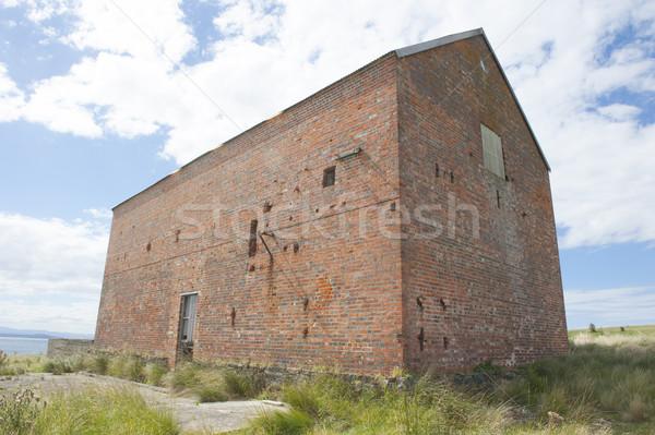 Darlington Maria Island Convict House Ruin Stock photo © roboriginal