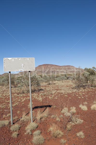Australian outback landscape Stock photo © roboriginal