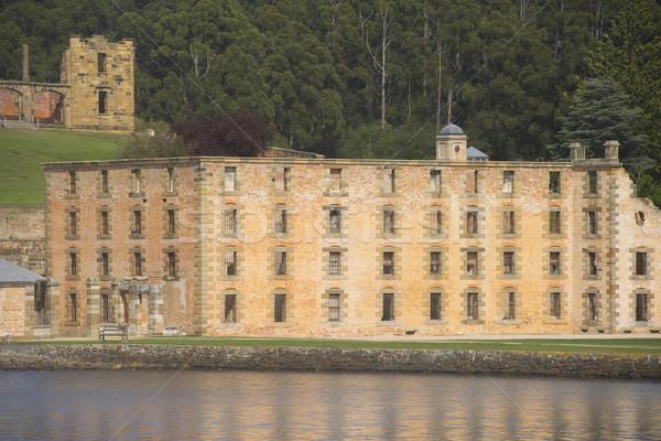 Portu więzienia muzeum tasmania świat Zdjęcia stock © roboriginal