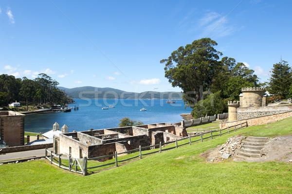 Haven gevangenis tasmanië wereld erfgoed Stockfoto © roboriginal
