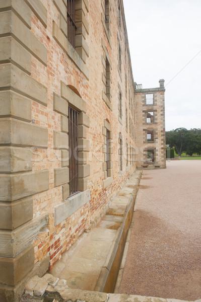 Gevangenis museum haven tasmanië wereld erfgoed Stockfoto © roboriginal