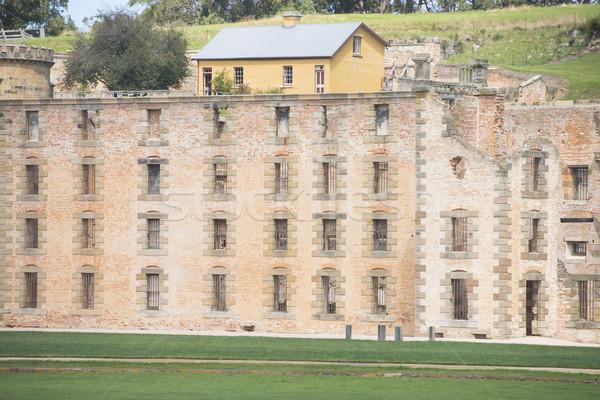 Port Arthur Prison Ruin Museum Tasmania Stock photo © roboriginal