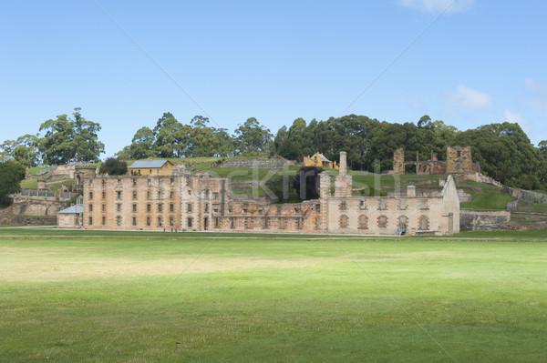 Mundo herança porta museu Foto stock © roboriginal